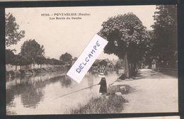 25 - Pontarlier  - Les Bords Du Doubs -¨Pêcheur - Pontarlier