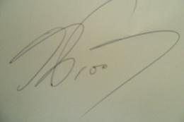 Autographe Signature Alain PROST - Autographes