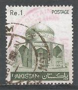 Pakistan 1980. Scott #470 (U) Tomb Of Ibrahim Khan Makli - Pakistan