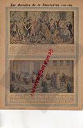 PROTEGE CAHIER-ANNALES REVOLUTION -1789-1799- PRISE BASTILLE -ABOLITION ABANDON PRIVILEGES-PARIS- EGALITE -DROITS HOMME - Animaux