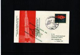 Germany / Deutschland 1964 Space / Raumfahrt  Rocket Post / Raketenpost - [7] Federal Republic