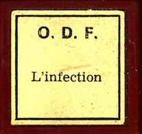1 Film Fixe L INFECTION Medecine Et Santé (ETAT TTB ) - 35mm -16mm - 9,5+8+S8mm Film Rolls