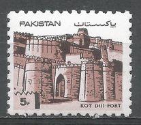 Pakistan 1984. Scott #613 (MNH) Kot Diji, Fort - Pakistan