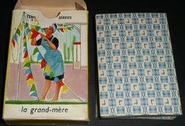 """Rare Ancien Jeu De Cartes, 7 Sept Familles """"Tourisme"""", Willeb, Station Service, Hotel Camping, Ecole Pompier - Group Games, Parlour Games"""