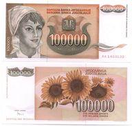 Yugoslavia - 100000 Dinara 1993 Pick 118 UNC Lemberg-Zp - Yougoslavie