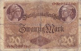 20 Mark Allemagne 1914 - [ 2] 1871-1918 : Empire Allemand