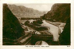 Pays Div-ref L52- Yemen - The Tanks , General View , Aden - - Yémen