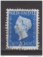 Nederlands Indie Netherlands Indies Dutch Indies 338 Used ; Koningin, Queen, Reine ,reina Wilhelmina 1948 - Nederlands-Indië