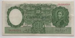 Argentina, 50 Pesos 1935 (1942-1954) XF+ - Argentina