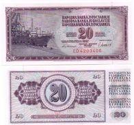 Yugoslavia - 20 Dinara 1981 UNC Lemberg-Zp - Yougoslavie