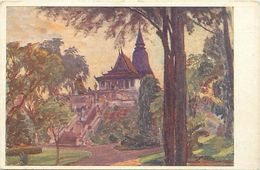 Pays Div-ref L43- Cambodge - Illustrateurs - Dessin Illustrateur -pnom Penh - Le Pnom  - - Cambodia
