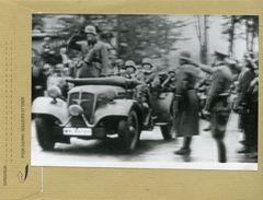Guerre 39/45 - Le Troisiéme Reich , L'entrée Des Troupes Allemandes En Pologne - War, Military
