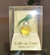 L' AIR DU TEMPS - Colombes Vertes - PARFUM 2,5 ML De RICCI - Miniatures Modernes (à Partir De 1961)