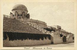 Pays Div-ref L40- Libye - Libya - Tripoli -monumento Lei Caduti  - - Libya
