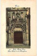 CPA N°17703 - LOT DE 2 CARTES DE PROVINS - EGLISE SAINTE CROIX - PETIT PORTAIL DE LA RENAISSANCE XVIe SIECLE - Provins