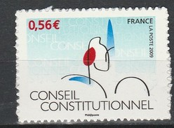 France Autoadhésif N° 337 ** Cinquantenaire Conseil Constitutionnel - Sellos Autoadhesivos