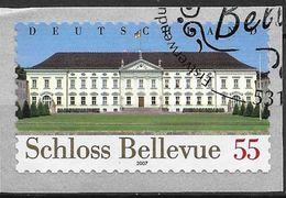 2007 Allem. Fed.   Deutschland  Mi.  2604  FD-used Bonn    Schloss Bellevue - Amtssitz Des Bundespräsidenten - Gebraucht