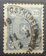 Finland 1895 Coat Of Arms - 1856-1917 Russian Government