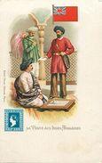 Pays Div-ref L37- Inde - India -indes Anglaises - La Poste - Post Office - Timbre -illustrateurs -dessin Illustrateur  - - India