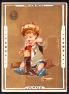 CHROMO AMIDON REMY  LOUVAIN  Calendrier 1885 - Chocolat