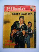 PILOTE 129 De AVRIL 1962 JOHNNY HALLYDAY ALFRED ROQUES ASTERIX UDERZO GOSCINNY - Cinema/Televisione