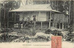 Pays Div-ref L32- Oceanie - Iles Salomon - Le Premier Couvent Des Soeurs  - - Solomon Islands