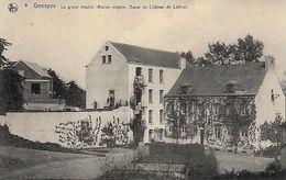 GENAPPE. LE GRAND MOULIN. ANCIEN MOULIN BANAL DU CHATEAU DE LOTHIER. TRES BELLE ANIMATION - Genappe