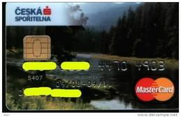 Czech Republic - Ceska Sporitelna - MasterCard - Wood - Geldkarten (Ablauf Min. 10 Jahre)