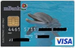 Czech Republic - MBank - VISA - Dolphin - Geldkarten (Ablauf Min. 10 Jahre)