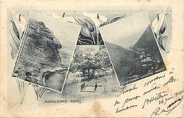 Pays Div-ref L21- Sainte Helene - Ste Helene - Jamestown -napoleon S Tomb - - Saint Helena Island