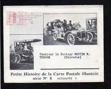 1958 Actualités N° 8 Histoire De La Carte Postale,EMA Env.illustrée + Dépliant,Steinheil,George V,Père Lachaise.... - Evénements