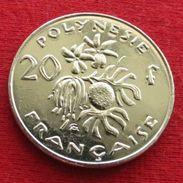 French Polynesia 20 Francs 2004 KM# 9 UNC Lt 622 Polynesie Polinesia - French Polynesia