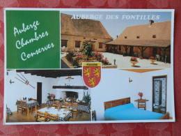 Dep 24 , Cpm  Auberge Des FONTILLES , Famille Coustou , 24330 La DOUZE , Multivues  (12.259) - Sonstige Gemeinden