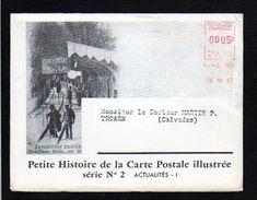 1957 Actualités N° 2 Histoire De La Carte Postale,EMA Env.illustrée + Dépliant,Télégraphe,Armistice,Inondations,etc . - Evénements
