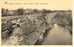 Ypres - Leper - CPA - Ruines D'Ypres - Remparts - Belgique