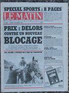 Le Matin De Paris (3 Oct 1983) Prix - Tchad - Attentat Marseille -J. Gréco - 1950 - Today