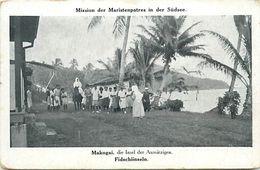Pays Div-ref L15- Oceanie - Fidji - Makogai -mission Der Maristenpatres In Der Sudsee - - Fidji