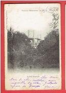 TONNAY CHARENTE 1902 LE PONT SUSPENDU CARTE EN BON ETAT - France