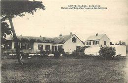 Pays Div-ref L14- Sainte Helene - Ste Helene - Longwood -maison De L Empereur Sauvée Des Termites - - Saint Helena Island
