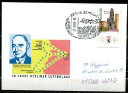 "Germany 1998 Sonderbeleg Berliner Luftbrücke M.Mi.Nr.1812 U.SST""Berlin-50 Jahre Berliner Luftbrücke""1 Beleg - [7] République Fédérale"