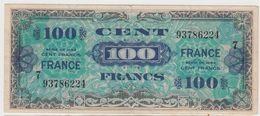 FRANCE 100 Francs 1944 P123c VF25/7 VF- - France