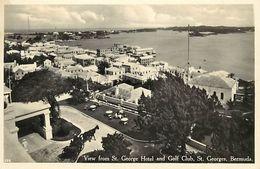 Pays Div-ref L12- Bermudes -bermuda -view From St Georges Hotel And Golf Club -st Georges - Bermuda -- - Bermudes