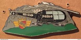 HELICOPTERE HB-XHP POLICE BERNOISE - BERNER POLIZEI - SUISSE - COP SWISS - SCHWEIZ  -     (14) - Police