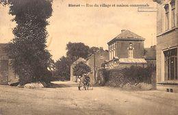 Bierset - Rue Du Village Et Maison Communale (animée, Edit Henri Kaquet, 1926) - Grâce-Hollogne