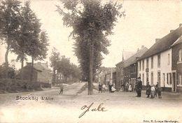Stockay - L'Allée (Edit R Lenaye Havelange Animée 1904) - Saint-Georges-sur-Meuse