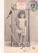 CPA Sport Arc Archer Baudrier Flèches Enfant Humour Petit Polisson - Tir à L'Arc