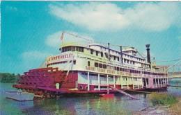 Kentucky Owensboro River Steamboat Sternwheeler The Kentuckian Floating Restaurant - Owensboro
