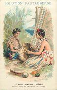 Pays Div-ref L04- Illustrateurs -dessin Illustrateur -oceanie -tonga - Publicité Santé Solution Pautauberge   - - Tonga