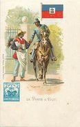 Pays Div-ref L01- Illustrateurs -dessin Illustrateur - La Poste A Haiti  - Post Office -timbre   - - Haïti