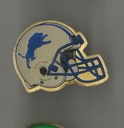 Pin's Casque Lions Detroit (football Américain)° - Badges